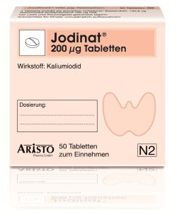Jodinat 200 �g Tabletten 50 St�ck